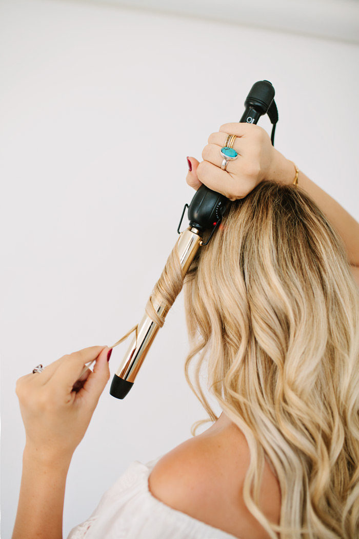 Hair Tutorial for Mermaid Waves, Pro Beauty Curling Wand
