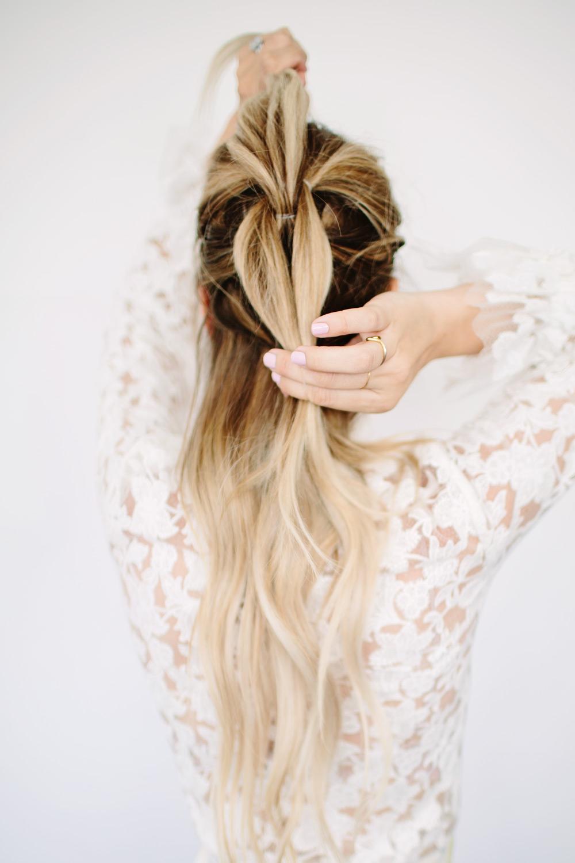 Pull Through Braid Hair Tutorial