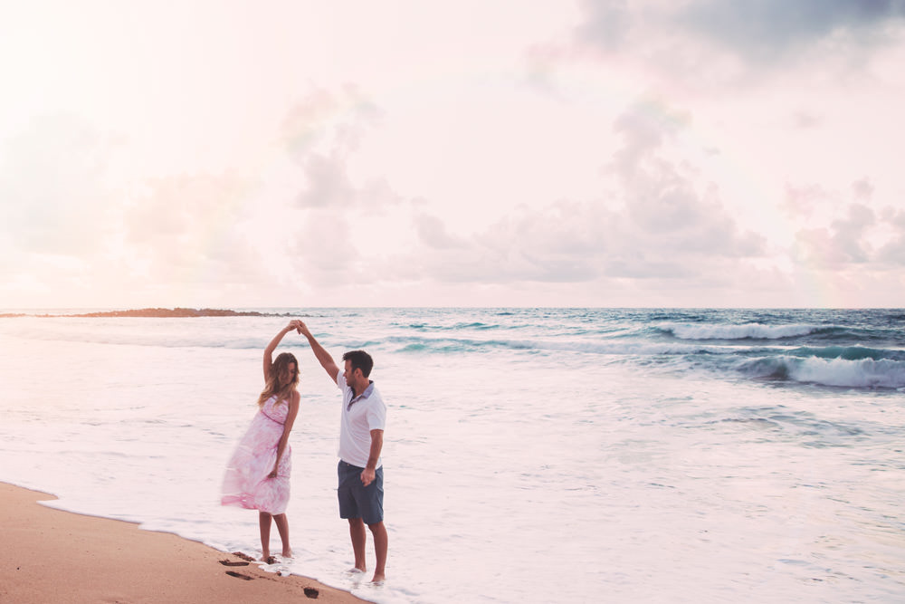 Dash of Darling shares the best place to watch the sunrise on Kauai while staying at the St. Regis Princeville Resort.