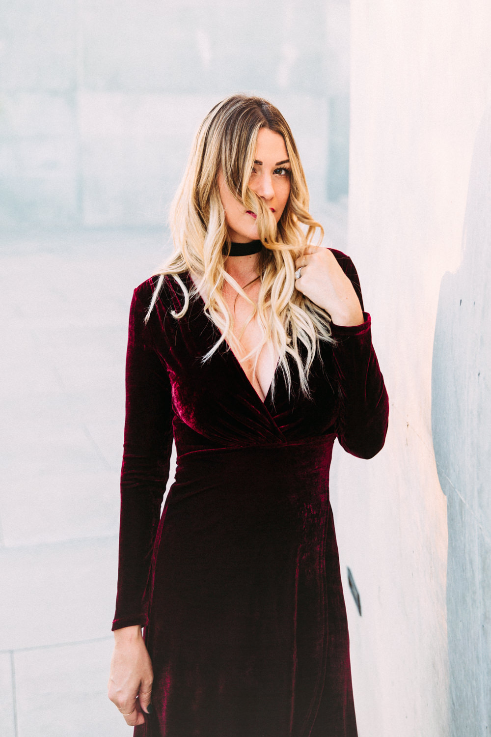 Caitlin Lindquist of the fashion blog Dash of Darling shares her favorite affordable holiday party dresses from Lulus.