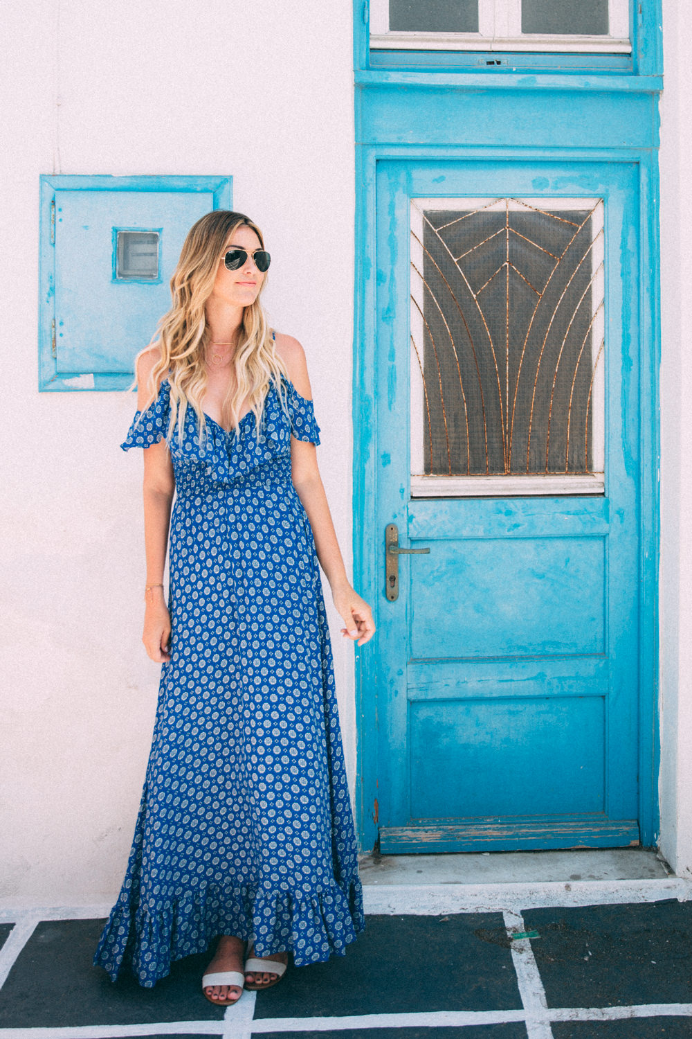 Caitlin Lindquist of the travel blog Dash of Darling shares her adventures in Mykonos, Greece with Royal Caribbean Cruises