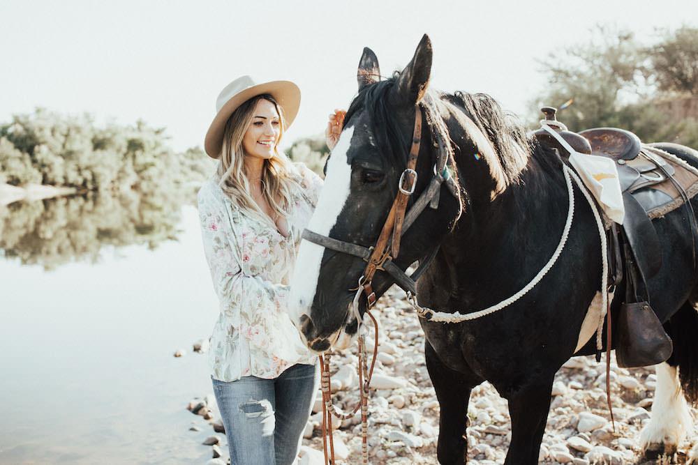 Dash of Darling | Arizona Horse Riding Adventure at Fort McDowell