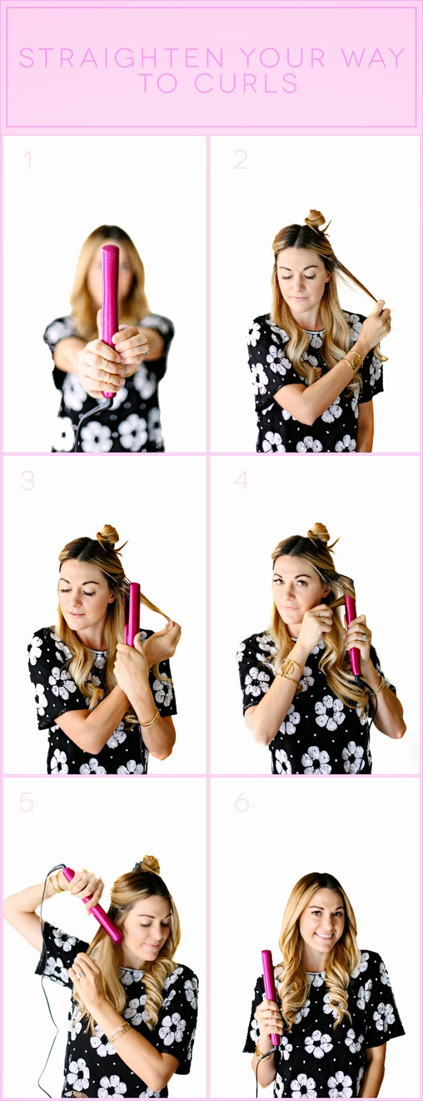 tutorial how to curl your hair with a flat iron dash of darling. Black Bedroom Furniture Sets. Home Design Ideas