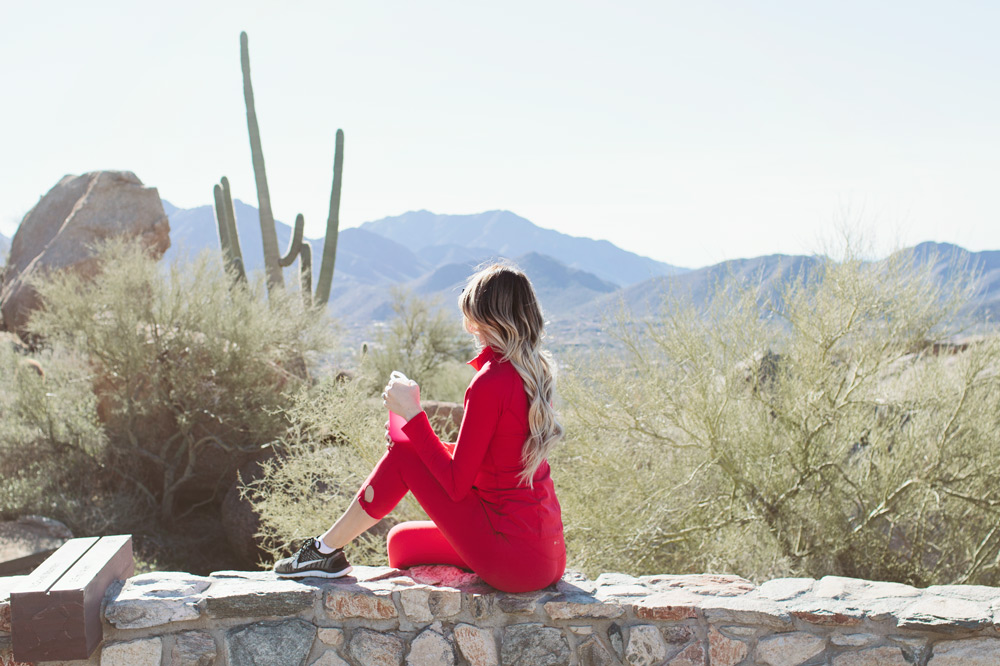 Scottsdale Arizona Pinnacle Peak hike Kate Spade New York