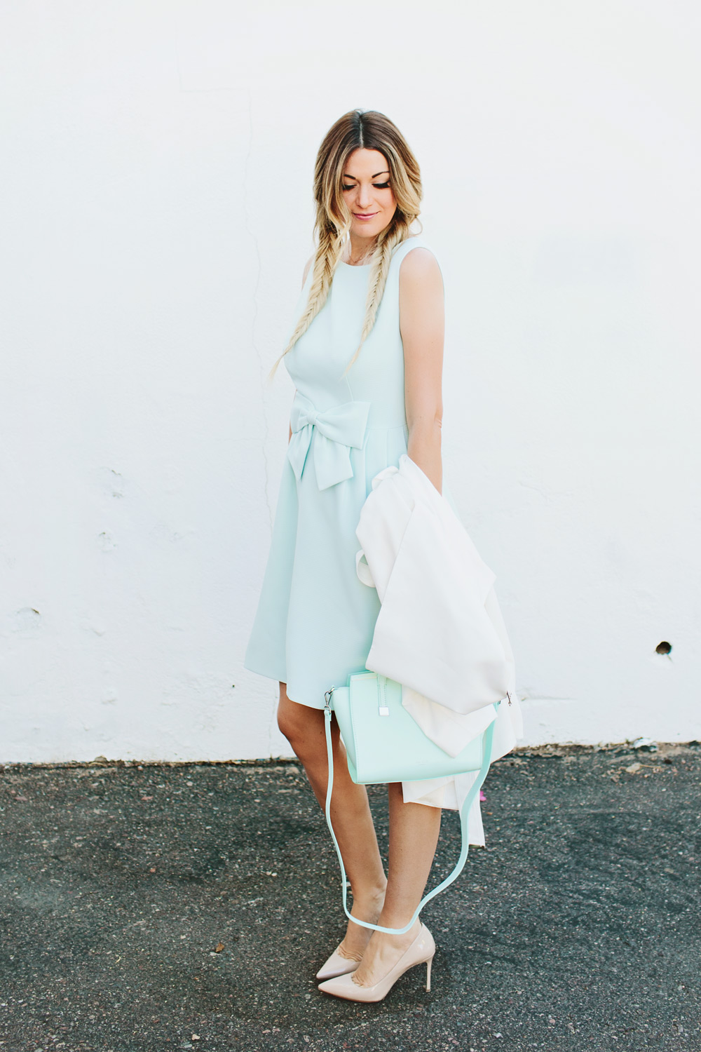 Ted Baker Mint Bow Dress