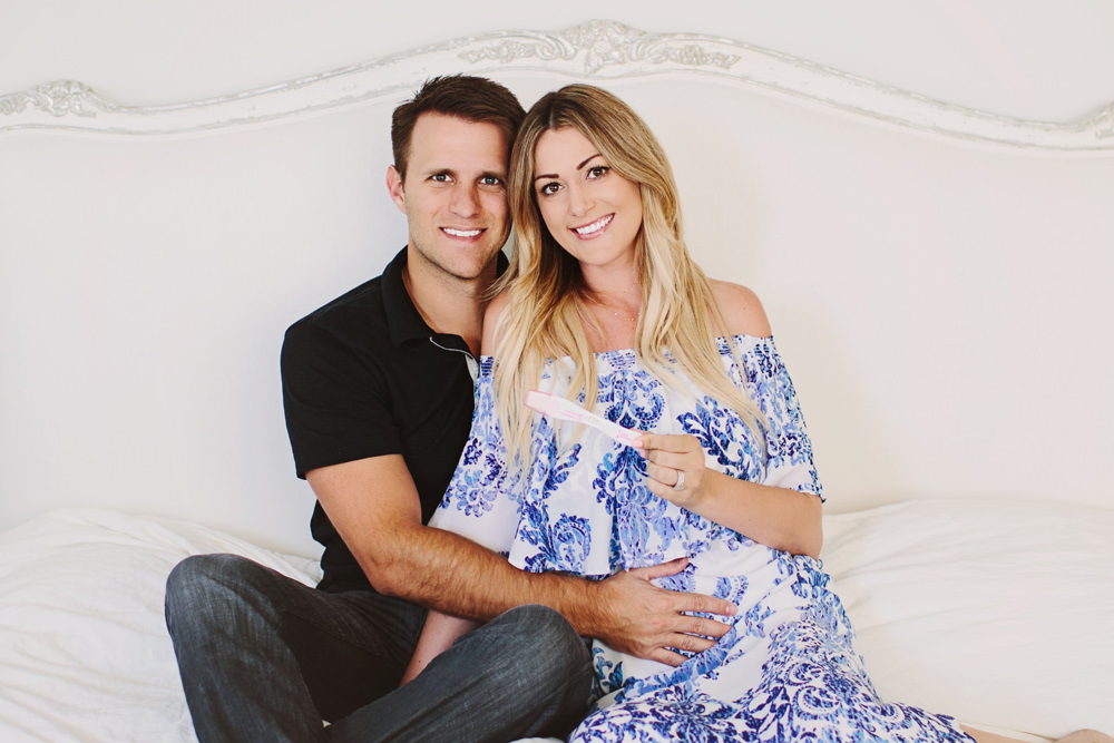 Caitlin and Ben Lindquist Dash of Darling IVF journey infertility  struggles story