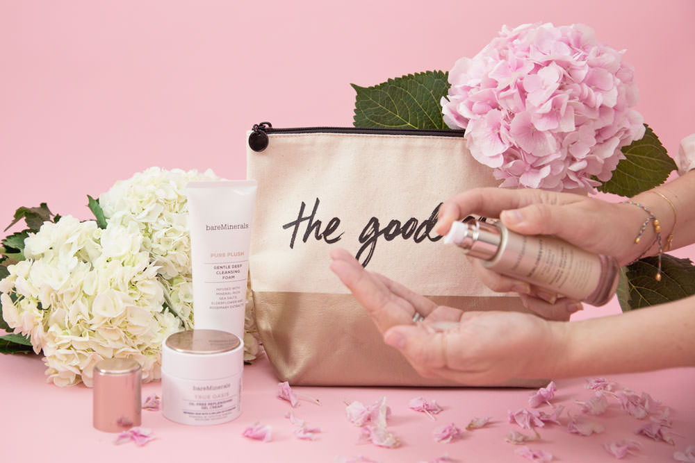 Dash of Darling shares her favorite beauty skincare products from Bare Minerals