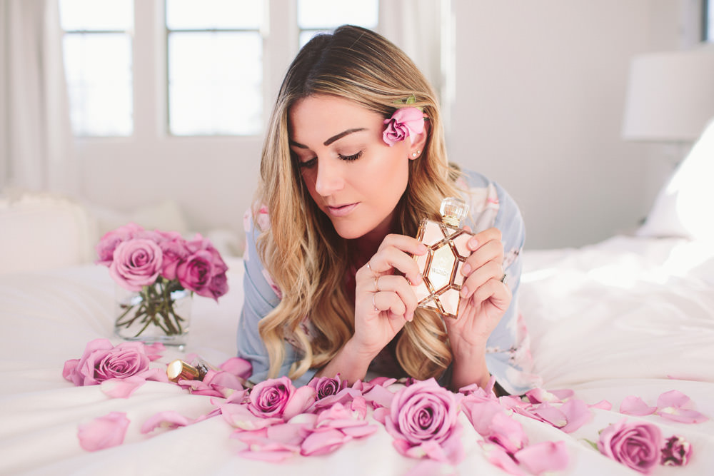 Dash of Darling models with Wildfox's new Eau De Parfum from Sephora.