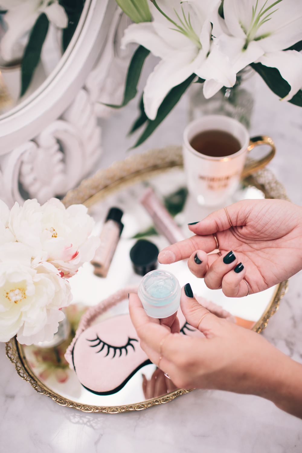 Caitlin Lindquist of the beauty blog Dash of Darling shares ways to sleep soundly and get your beauty sleep.