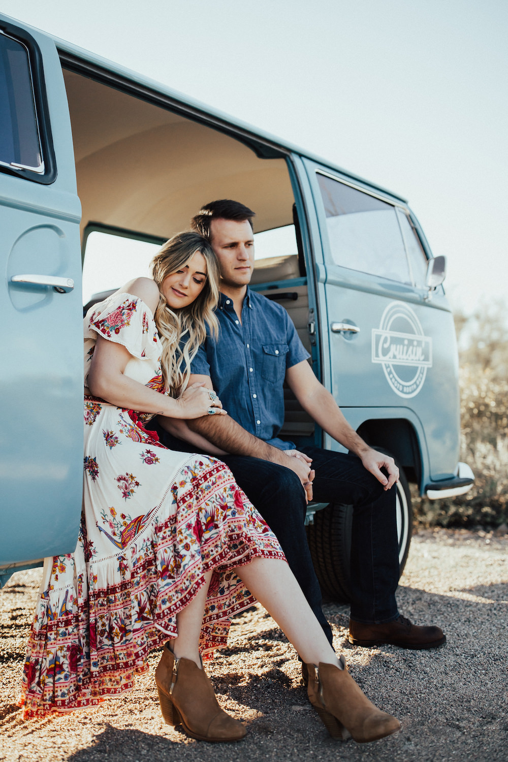 Caitlin Lindquist of the Arizona fashion blog Dash of Darling shares 20 things you probably don't know about her and her husband, Ben.