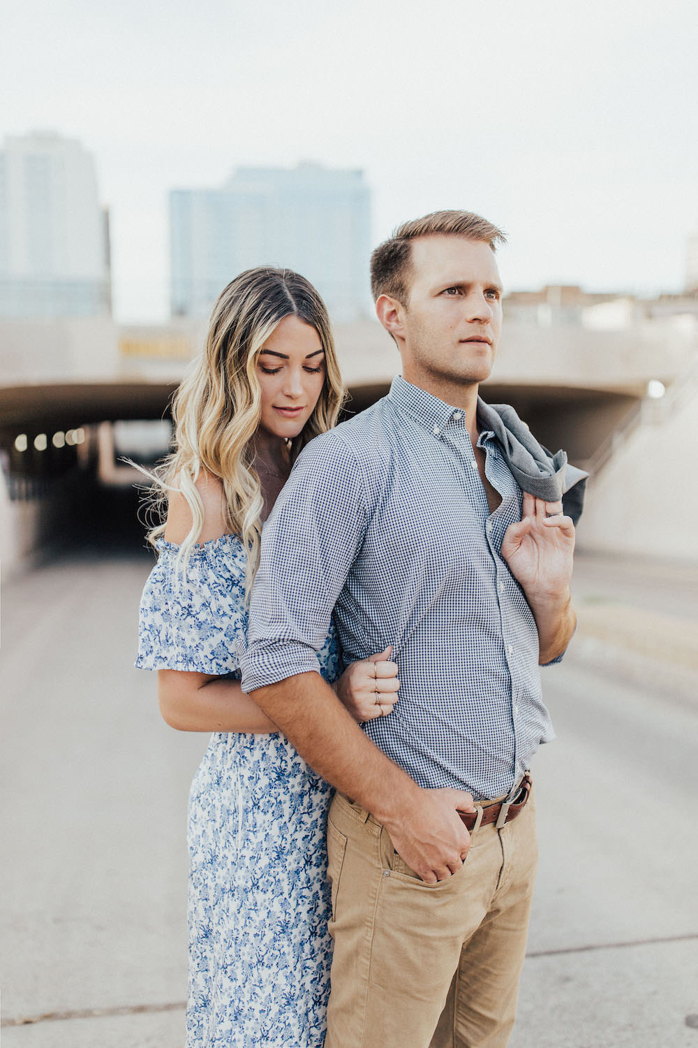 Caitlin Lindquist of the Arizona fashion blog Dash of Darling and her husband Ben share couples date night outfits and how to keep the spark alive.