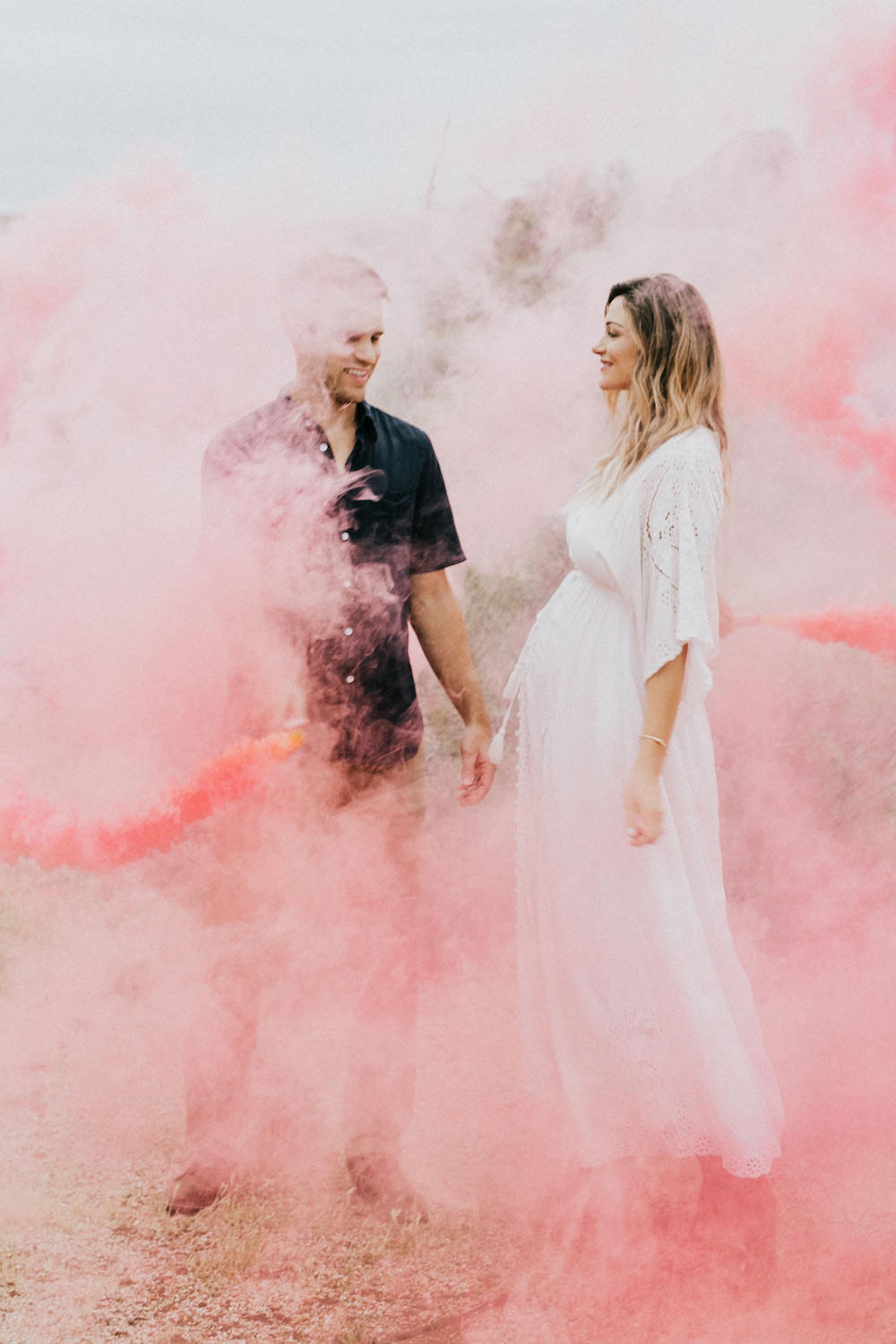 Dash of Darling shares her gender reveal on her first viable pregnancy post IVF treatments