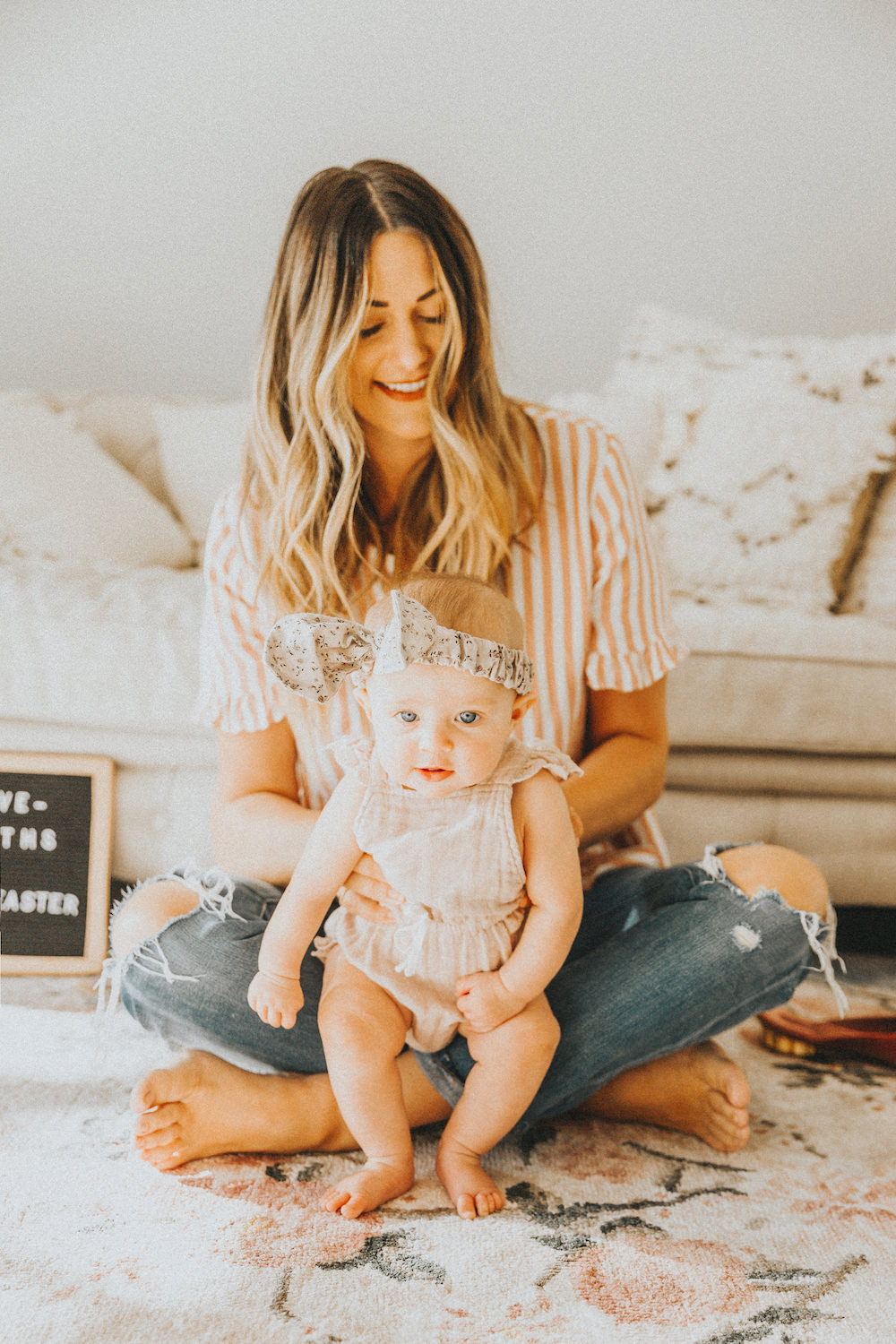 Dash of Darling | 4-5 Month Baby Schedule Sample