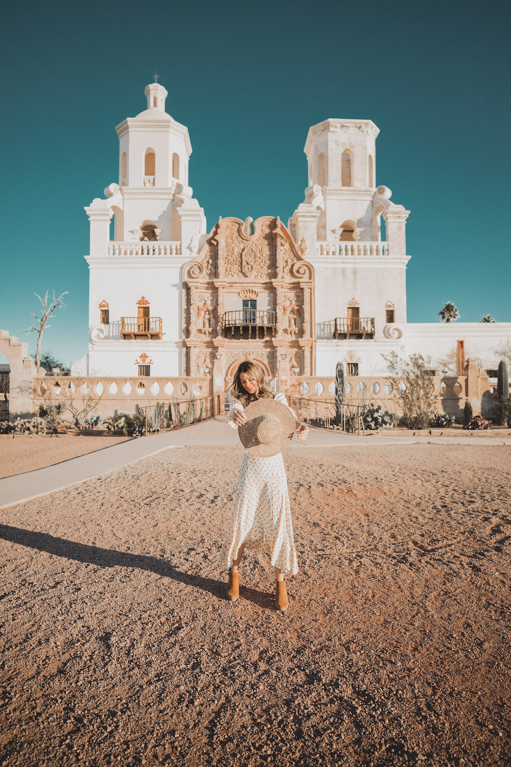 Dash of Darling | San Xavier Mission Tucson Arizona